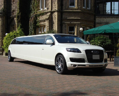 Limo Hire in Saltney