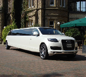 Audi Q7 Limo in Saltburn by the Sea