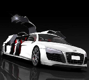Audi R8 Limo Hire in Llanwrtyd Wells