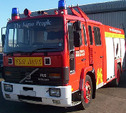 Fire Engine Hire in Cardigan
