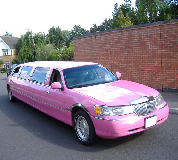 Lincoln Towncar Limos in Kington