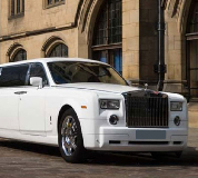Rolls Royce Phantom Limo in Coal Pool