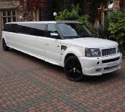 Range Rover Limo in Newbiggin by the Sea
